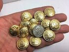 New lots of  Military Gold Metal Buttons with Royal Crest size 7/8inch G50