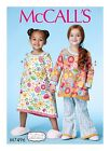 SEWING PATTERN! MAKE GIRLS NIGHTGOWN~NIGHTIE~PAJAMAS! SLEEPWEAR SIZE 2-5 OR 6-7-