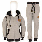 DL FUNK Kids Boys Tracksuit Hoodie Hooded Fleece Gym Top Bottom Joggers Sport UK