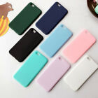 8Colors Flexible Rubber Silicone TPU Soft Cover ShockProof Phone Case For iPhone