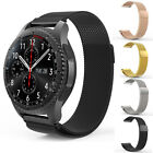 Milanese Magnetic Metal Wrist Watch Bands For Samsung Gear S3 Frontier Classic