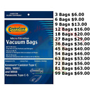 KENMORE CANISTER VACUUM CLEANER BAGS TYPE C FOR MODELS 50...