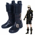 New Anime NieR:Automata 9s Black Boots Cosplay Shoe Custom Made