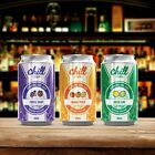 Chill Sparkling Juice Refreshing Soda Flavor 60ML Free Clapton Coils
