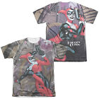 Batman ROLLER COASTER OF LOVE 2-Sided All Over Print Poly Cotton T-Shirt