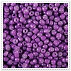20g - 100g Opaque Violet Seed beads Size 6/0. JM977
