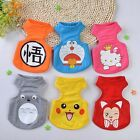10 Design Pet Dog Vest Breathable Small Puppy T shirts Summer Basic Tee For Dogs