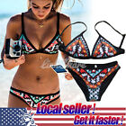Women Push-up Padded Bra Bandage Bikini Set Bathing Swimwear Swimsuit TX Sale