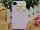 For iPhone 4/4S&iPhone5/5S Mobile Case Cover Lovely Flower Sweet Colors SK0216
