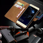 Premium Leather Stand Flip Book Wallet Case Cover For All Huawei Ascend Models