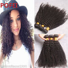 Afro Kinky Curly Unprocessed Human Hair Bundles 100% Virgin Brazilian Human Hair