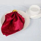 Elegant Flower Designed Restaurant Wedding Table Napkin Decorations Supplies