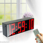 Remote Big Digital Led Wall Clock Large Screen Alarm Watch Timer Date Snooze New