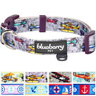 Blueberry Pet Aviation Dream High Collection Dog Collar