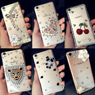 Handmade Fashion Luxury Bling Diamond Crystal Jewelled Clear Phone Case Cover