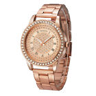 Fashion Alloy Luxury Crystal Design Lady Women Analog Quartz Wrist Watch K07