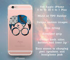 Ravenclaw Glasses & Scar Clear Case Cover Skin for iPhone 5 5s 5c SE 6 6s 7 Plus