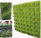 Decorative Foldable Reusable Polyester Garden Wall Hanger Planter Bag Lot Cells