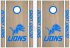 Detroit Lions Cornhole Bean Bag Toss Vinyl Decal Set - 8pcs - Multiple Colors on eBay