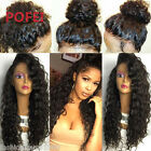 Malaysia Curly Brazilian Human Hair Lace Wig Glueless Full Lace /Lace Front wigs