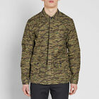 CARHARTT Anson Shirt Jacket Camo Tiger Laurel Stone Giacca Camouflage S M L vans