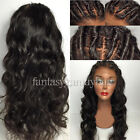 New Virgin Human Hair Body Wave Full Lace Wigs Glueless Lace Front Wigs