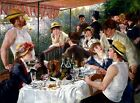 Luncheon of the Boating Party Painting by Pierre-Auguste Renoir Art Reproduction