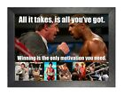 Rocky Balboa 51 Motivational Quote Boxing Legend Poster Fight Sport Stallone