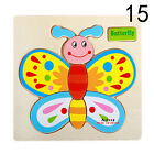 3D Wooden Cartoon Animal Puzzles Toys Educational Early Learning Jigsaw SG