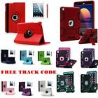 360 Shockproof Heavy Duty Rubber With Hard Stand Case Cover F iPad 234 Mini Air