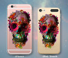 Flower Skull Collage Cute Case for iPhone 7 7 Plus 6s 6 SE 5s 5 5c iPod 6th 5th
