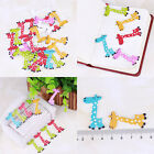 New Fashion Bulk Craft Giraffe Sewing Wooden Buttons Scrapbooking 2 Holes