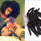"""4""""x4"""" Brazilan Afro Kinky Curly 100% Remy Human Hair Lace Frontal Closure 8-20"""""""