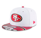 NFL San Francisco 49ers New Era 2017 Draft On Stage 59FIFTY Fitted Hat - White