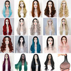 Lot Cosplay FancyDress Lace Front Wig Long Wavy Heat Resistant Hair PartyCostume