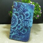 Mandala Flower Wallet holder flip case cover for Vodafone iPhone Blackerry