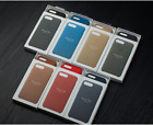 (metal buttons) New OEM Apple Leather case Cover For Iphone 7 7plus