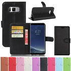 Flip Stand Card Wallet Holder Leather Case Cover For Samsung Galaxy S8 / S8 Plus
