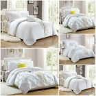 Duvet Cover Sets With Pillow Cases,Pintuck & Sequin,Luxury Bed Linen Quilt Sets