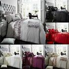 ALINA Duvet Set Quilt Cover Pillow Case Single Double Super King Bedding