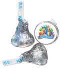 70th Birthday Party Supplies Hershey Kiss Labels Stickers Pe