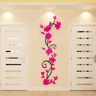 3D Flower Removable acrylic DIY Wall Sticker Decal Mural Home & Room Decor