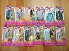 Barbie assorted single fashion packs outfits new skirt top jeans swimming suit