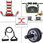 MAXSTRENGTH Ab Rocket Twister Bench Exercise Wheel Core Machine Resistance Band
