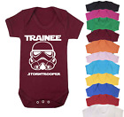 Trainiee Stormtrooper Star Wars Inspired Baby Vest  Babygrow Baby gifts