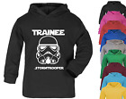 Trainee Stormtrooper Star Wars Inspired Baby Hoodie Jumper 100% Cotton Baby gift