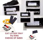 Top CAT LITTER TRAY FILTERS -Premium CARBON FILTERS -CONTROL ODOURS -CHOOSE SIZE