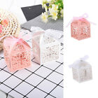 50PCS Hollow Carriage Box Gifts Candy Baby Birthday Wedding Event Party Supplies