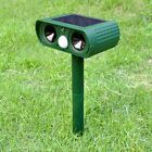 Solar Power Ultrasonic Pest Animal Repeller Garden Yard Snake Sensor Detection