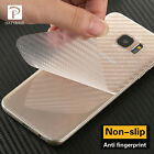 New 3D Carbon Fiber Skins Protective Sticker For Samsung Galaxy S7 Edge